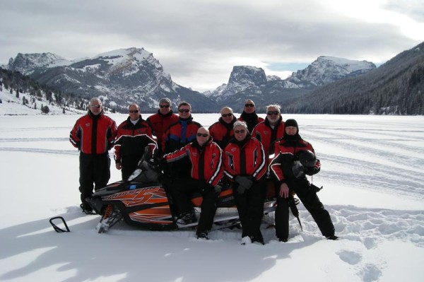 Custom Wyoming Snowmobile Tours
