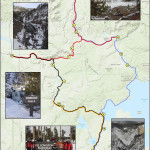 Yellowstone Snowmobile Tour Map