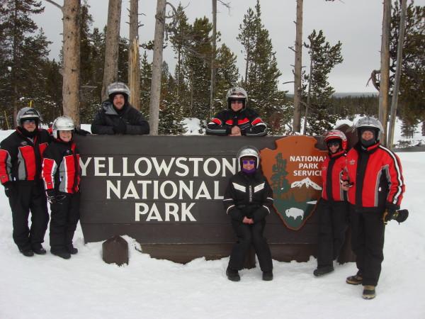Yellowstone Snowmobiling Tours