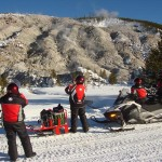 Yellowstone Snowmobiling